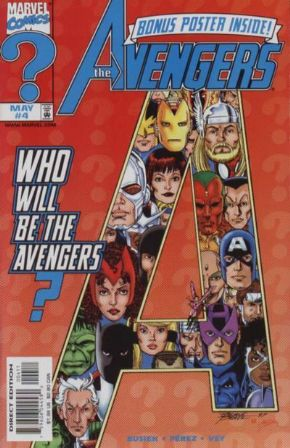 Avengers #4 (1998) Marvel Comics US Import Busiek Perez